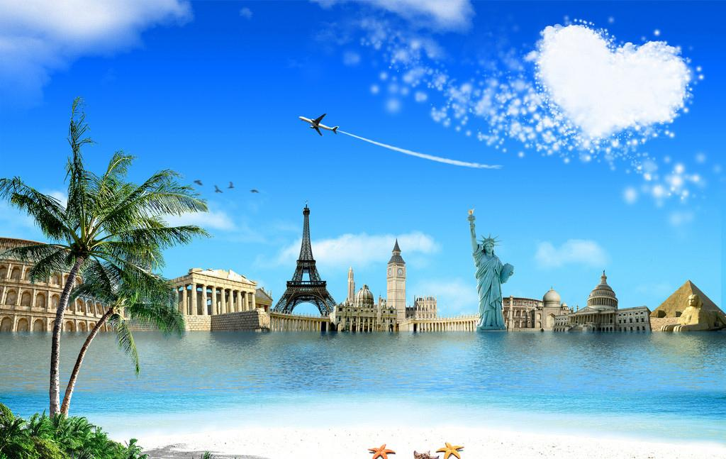 Travel The World Wallpaper