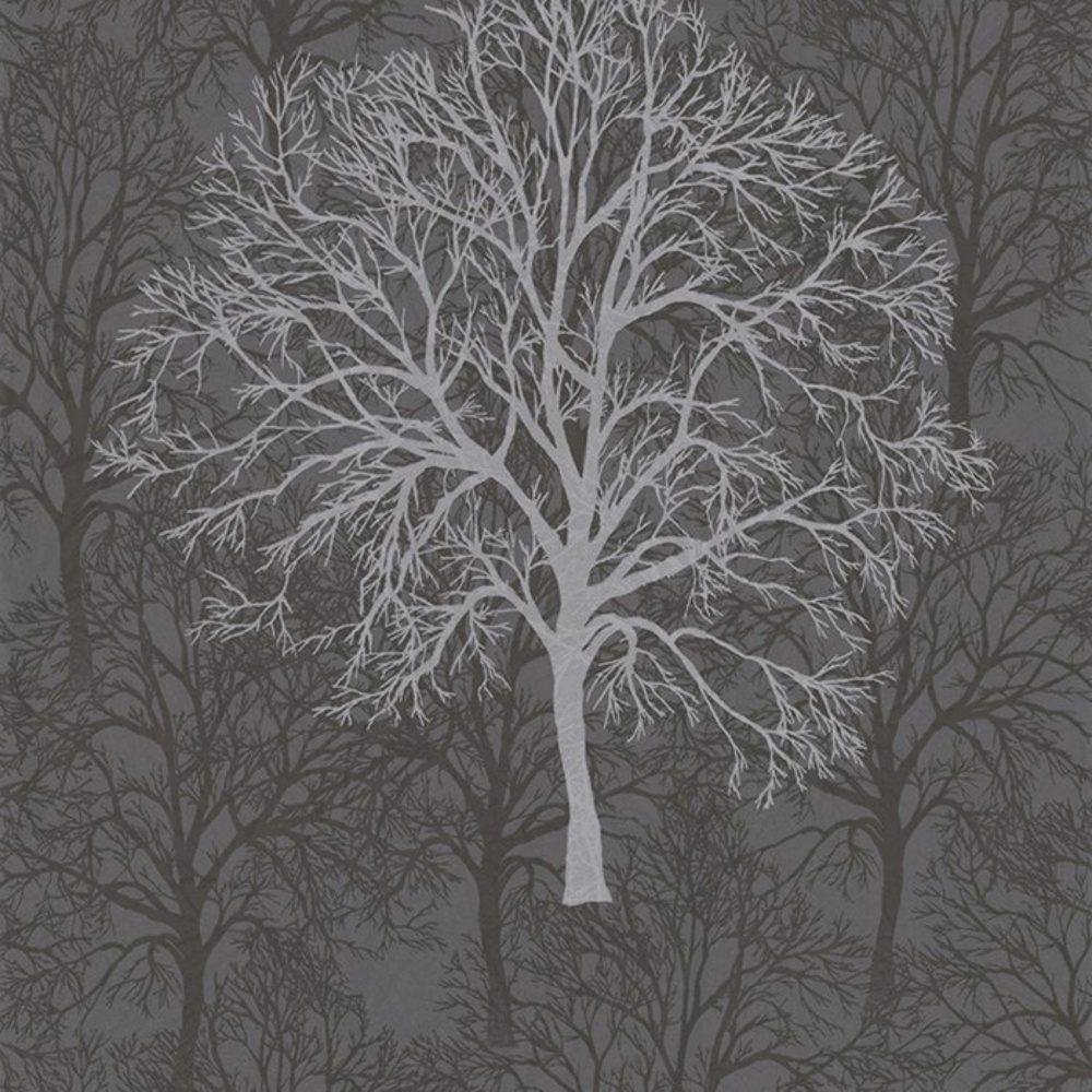 Tree Motif Wallpaper
