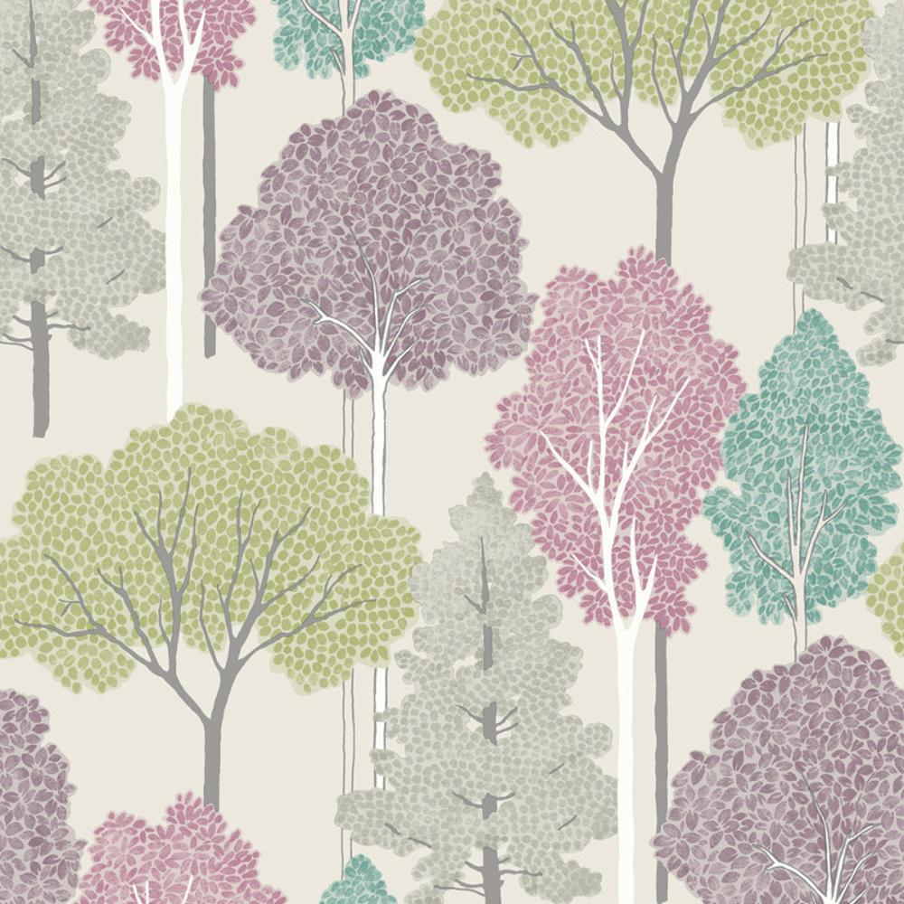 Tree Pattern Wallpaper