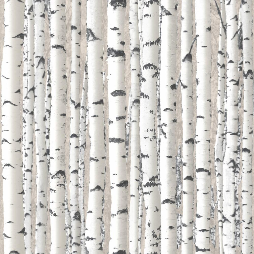 Tree Patterned Wallpaper