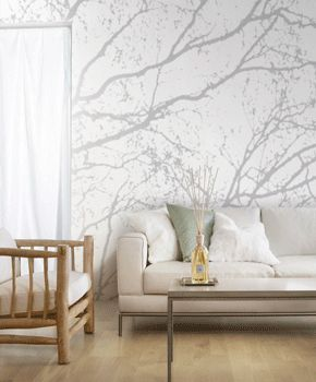 Tree Wallpaper Interior
