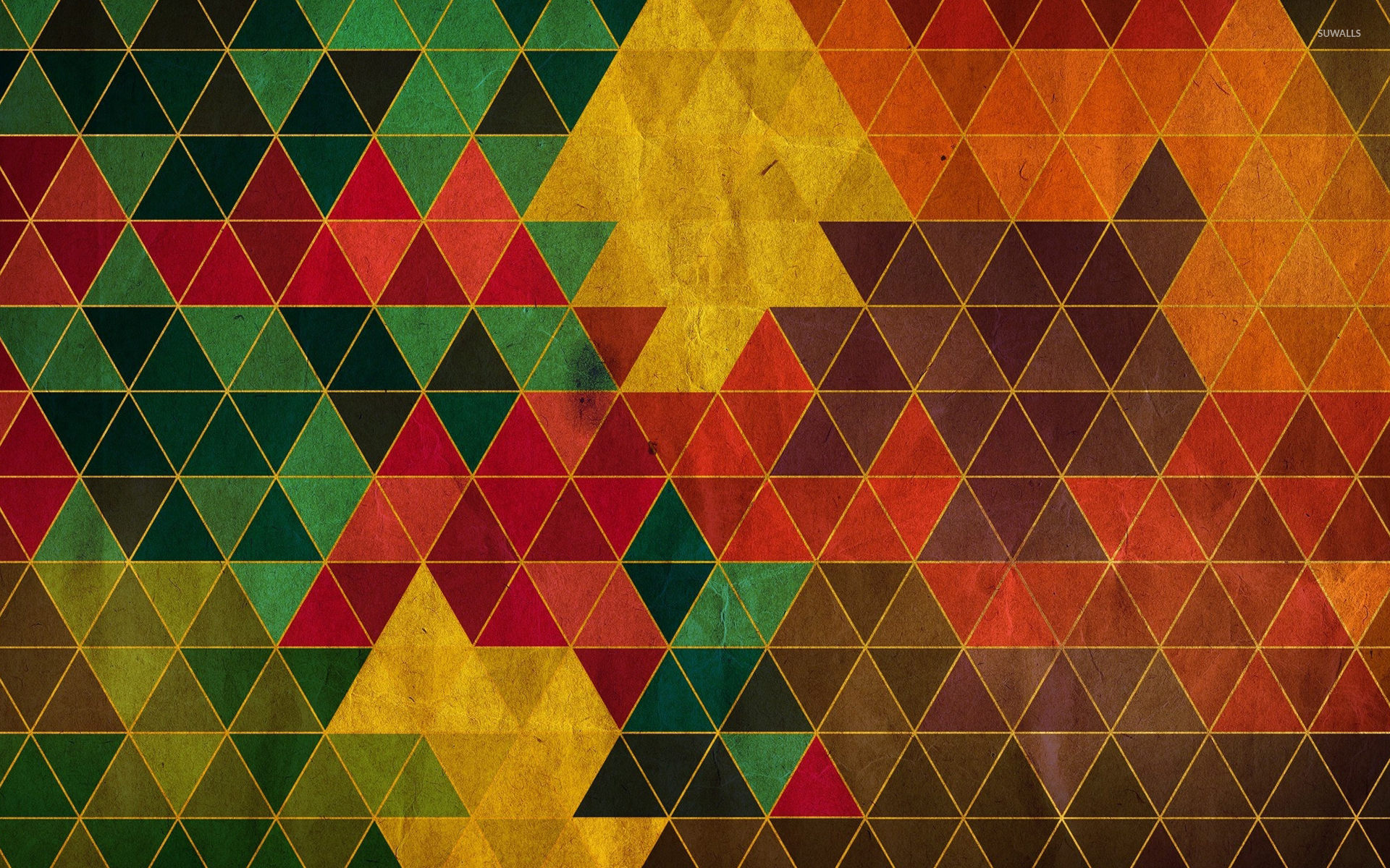 Download Triangle Pattern Wallpaper Gallery