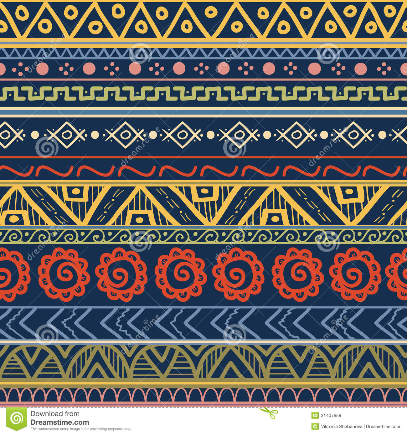 Tribal Patterns Wallpaper