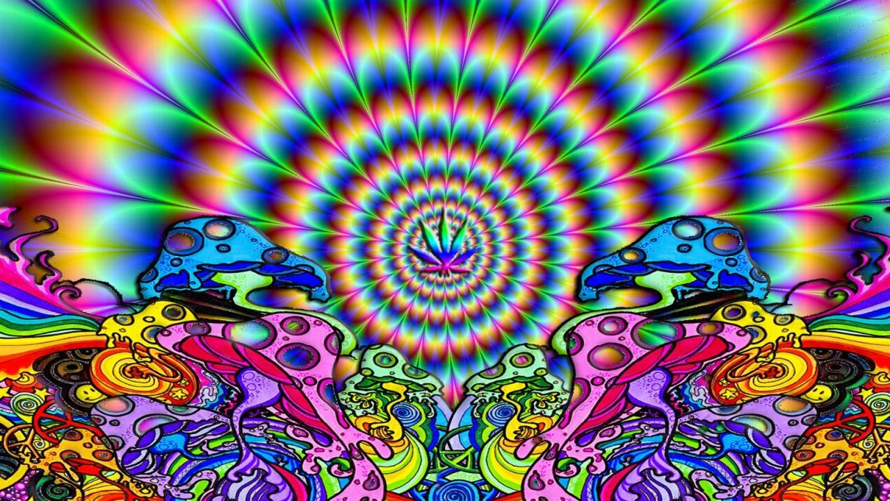 Trippy Shroom Wallpaper
