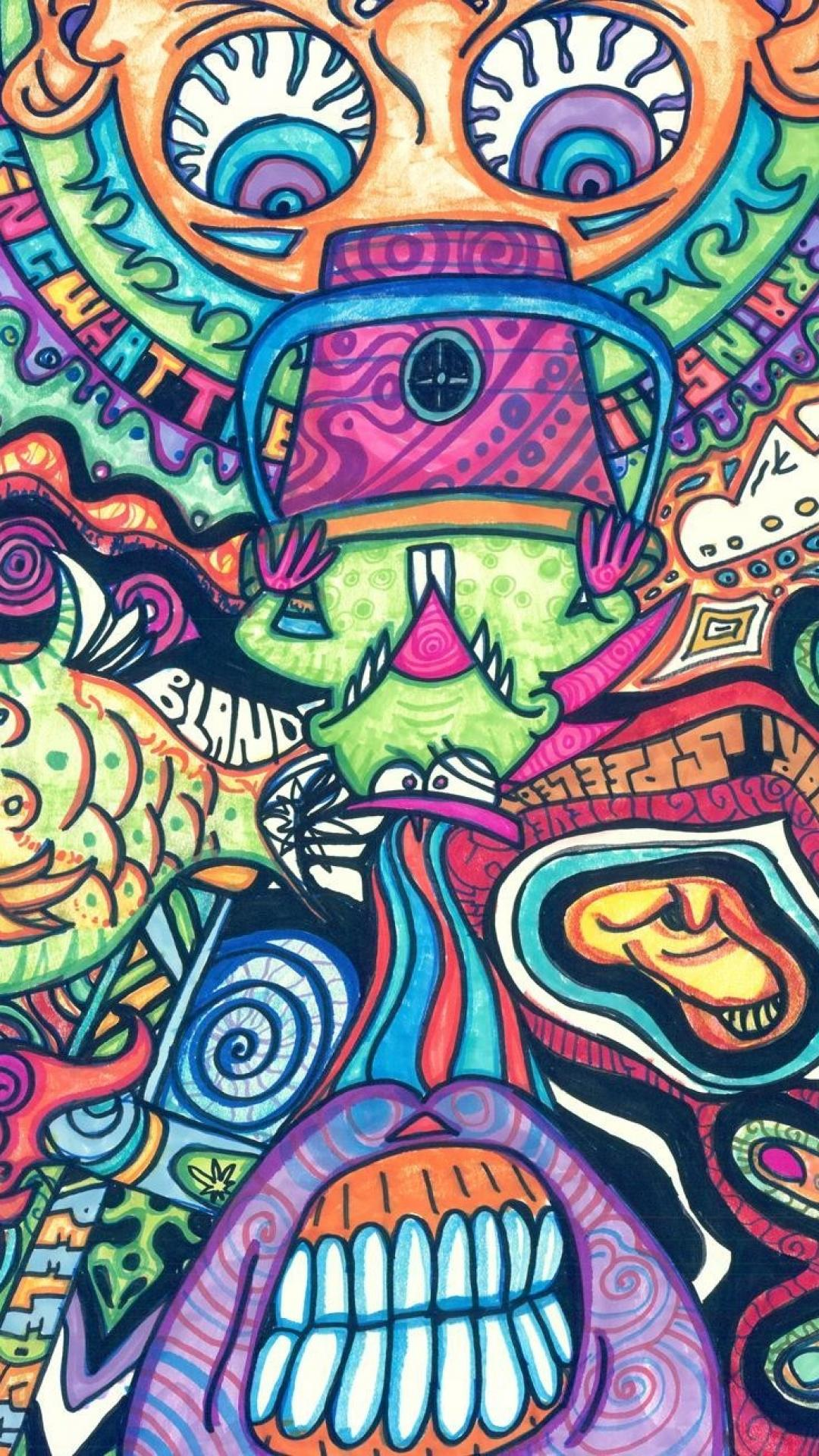 Trippy Wallpapers HD Iphone
