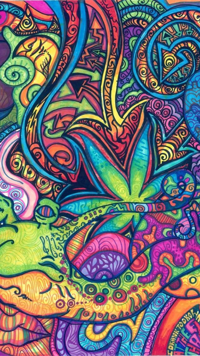 Trippy Wallpapers Iphone