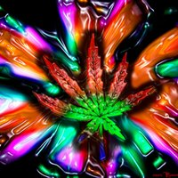 Trippy Weed Wallpaper