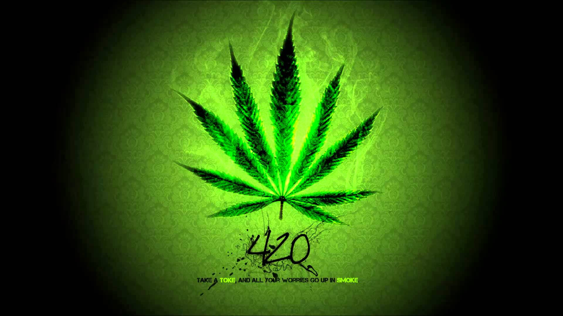 Trippy Weed Wallpapers