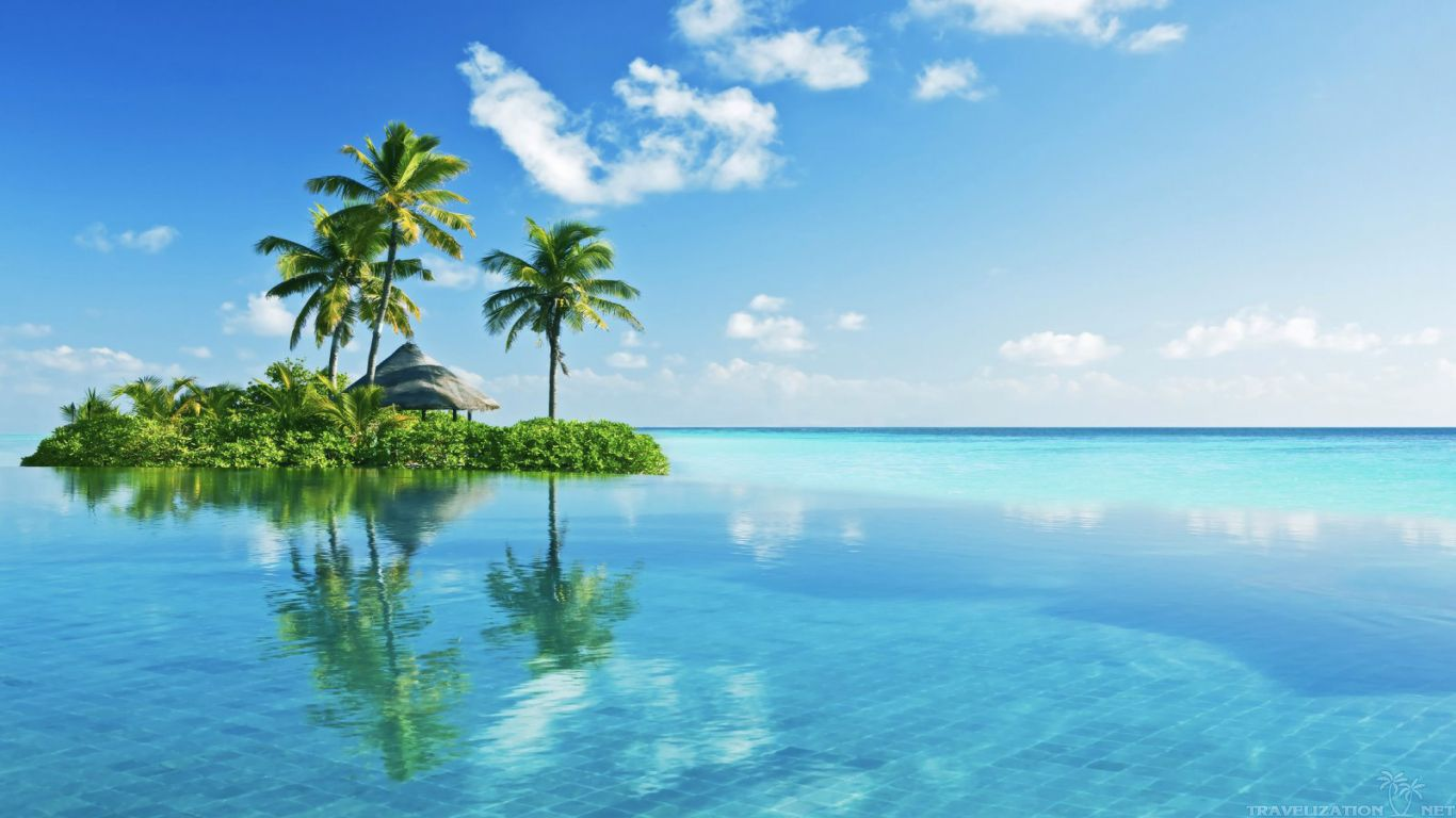 Tropical Islands Wallpaper
