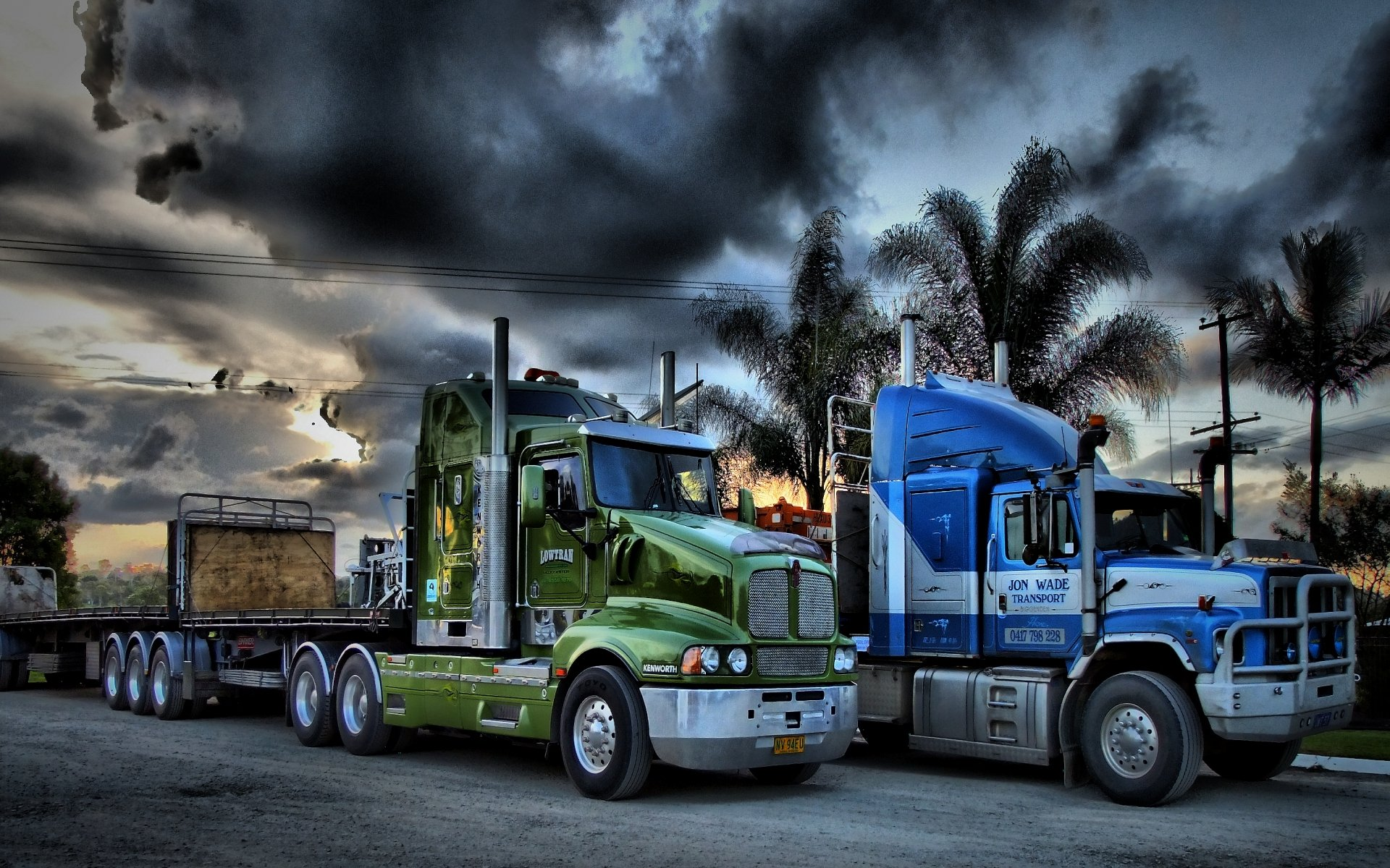Trucking Wallpaper