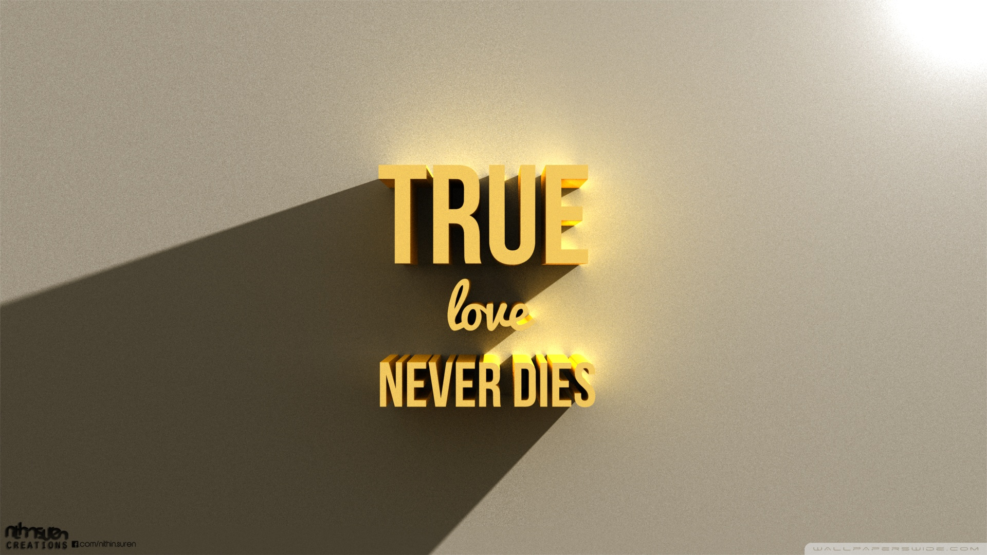 True Love HD Wallpaper