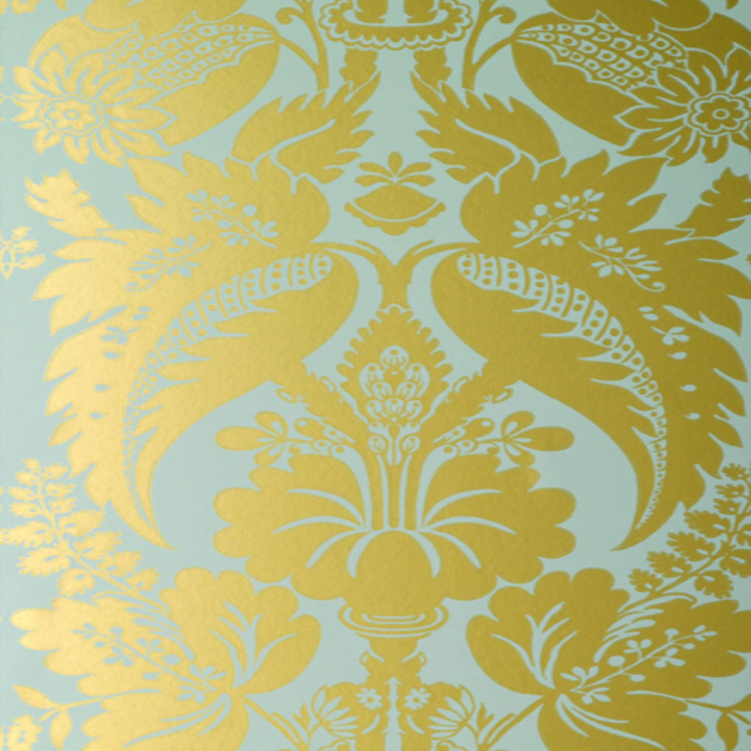 download turquoise and gold damask wallpaper gallery