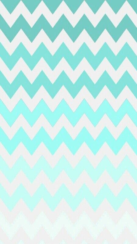 Turquoise chevron pattern background