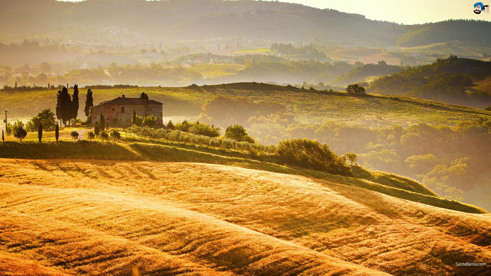 Tuscan Wallpaper