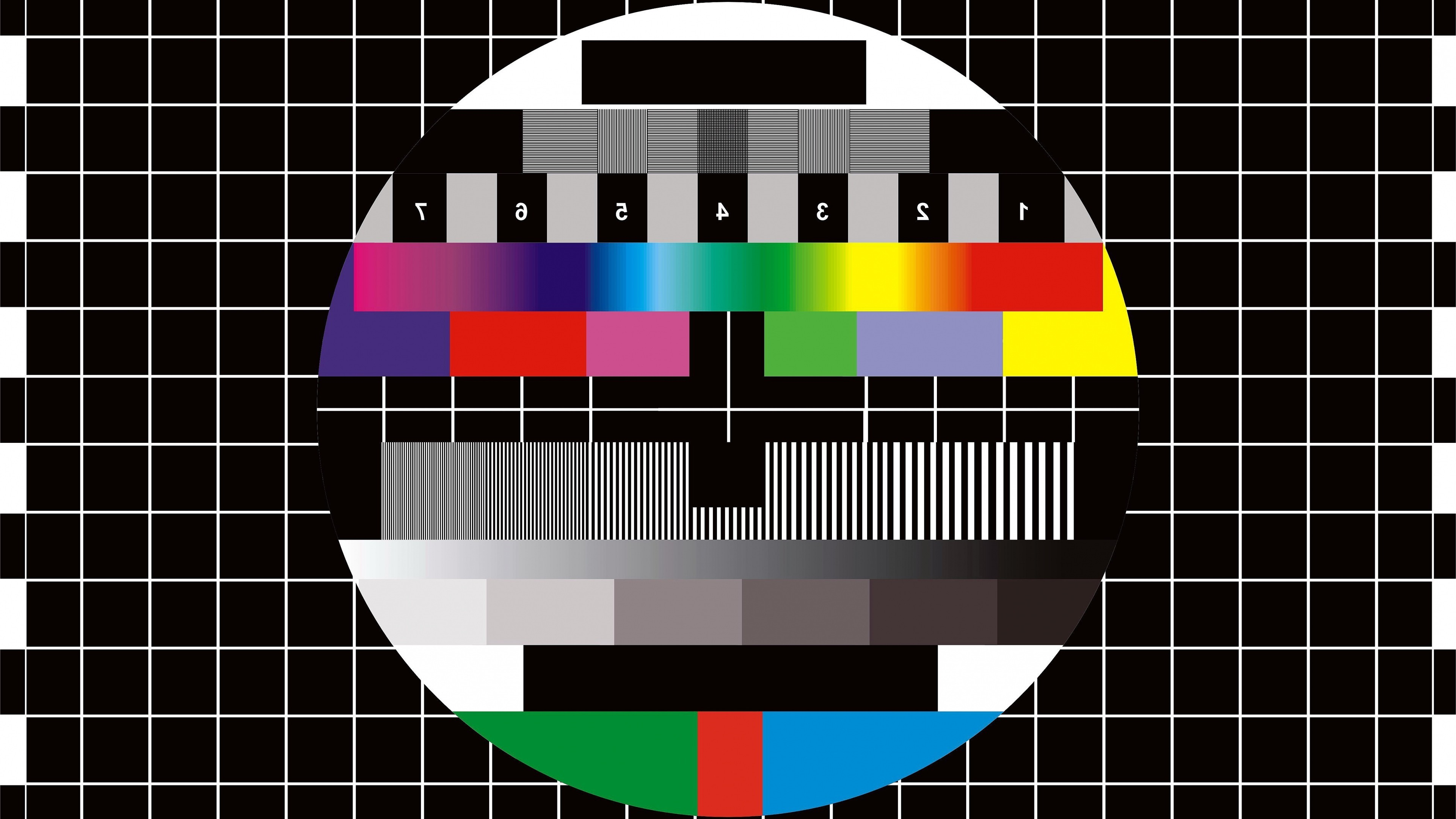 Car Brands Beginning With A >> Download Tv Test Pattern Wallpaper Gallery