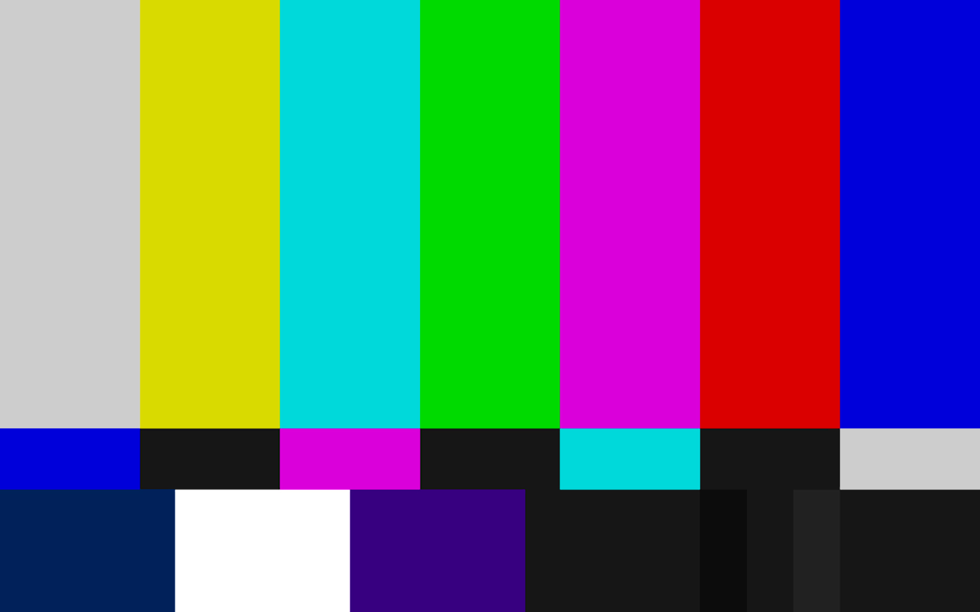 Tv Test Pattern Wallpaper