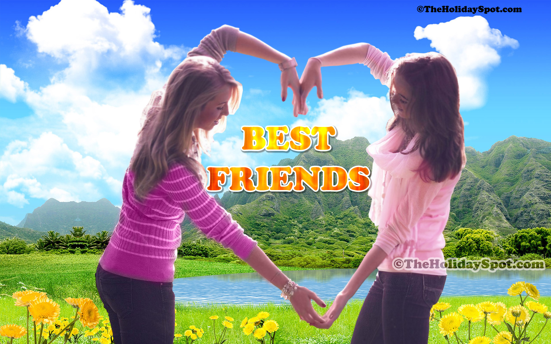 Two Best Friends Wallpapers