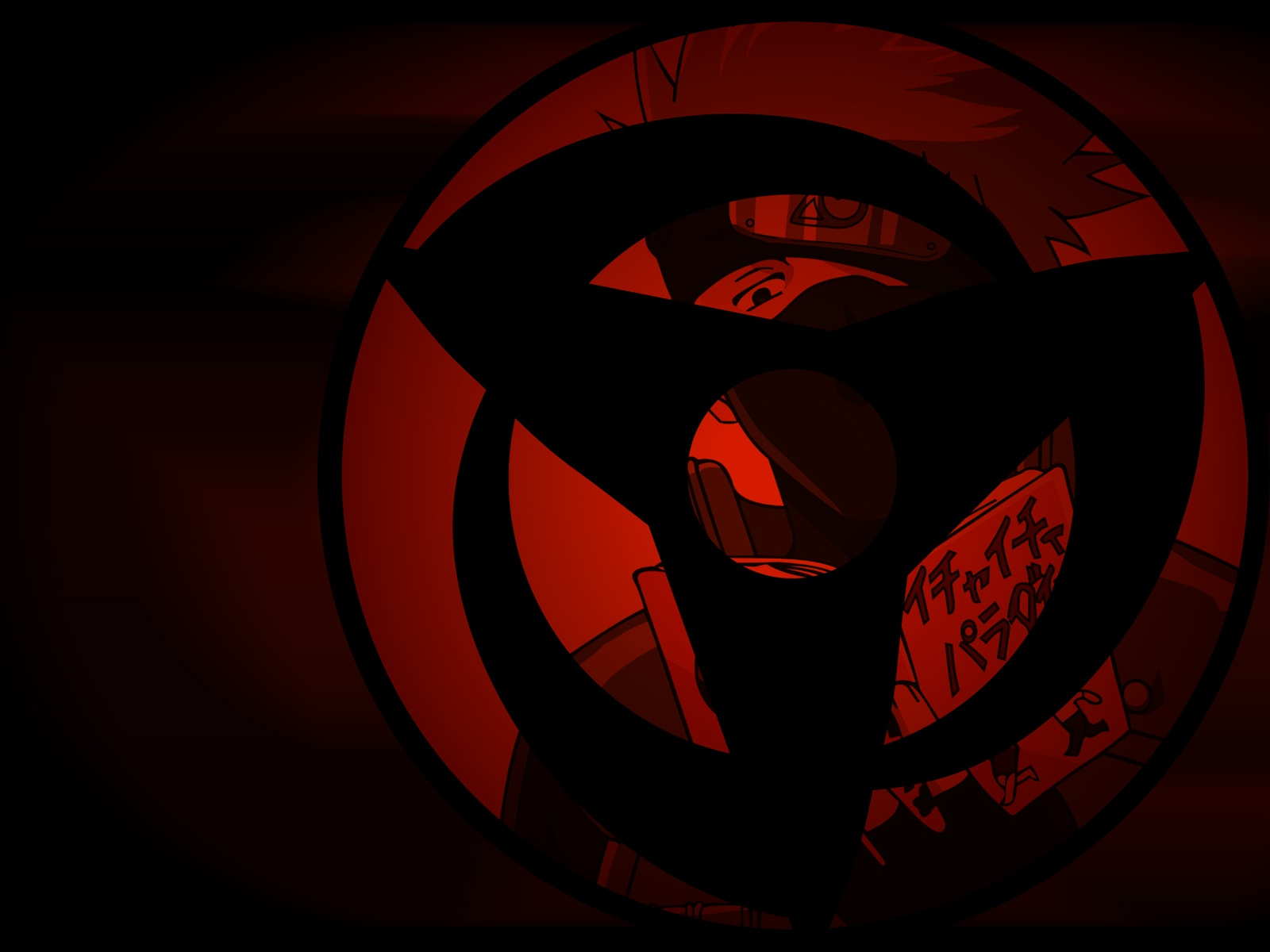 Uchiha Eyes Wallpaper