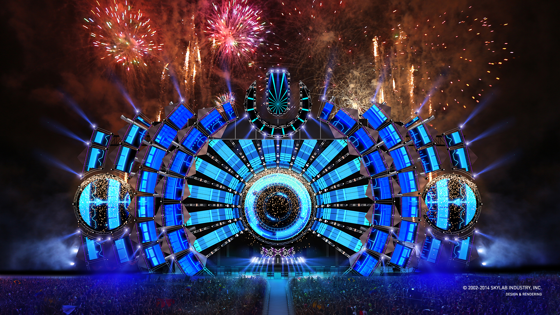 Ultra Music Festival Wallpaper HD