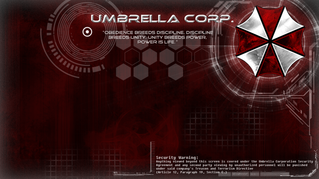 Umbrella Corp Wallpaper