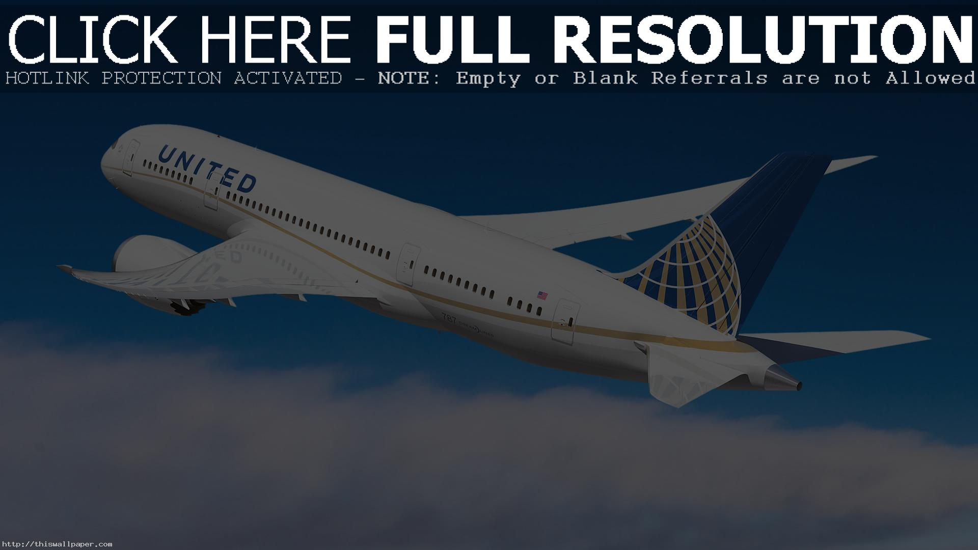 United Airlines Wallpaper