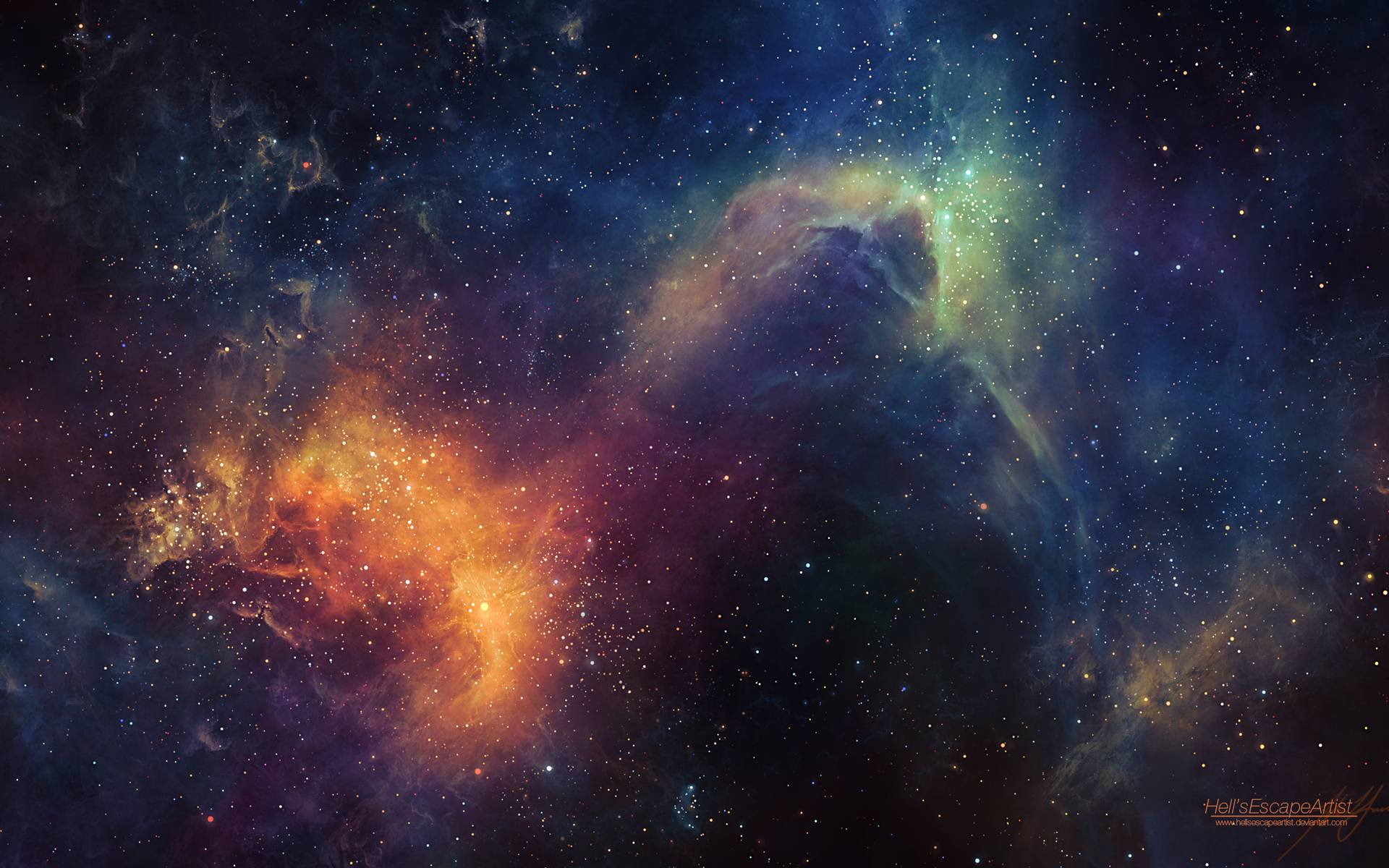 Universe HD Wallpaper