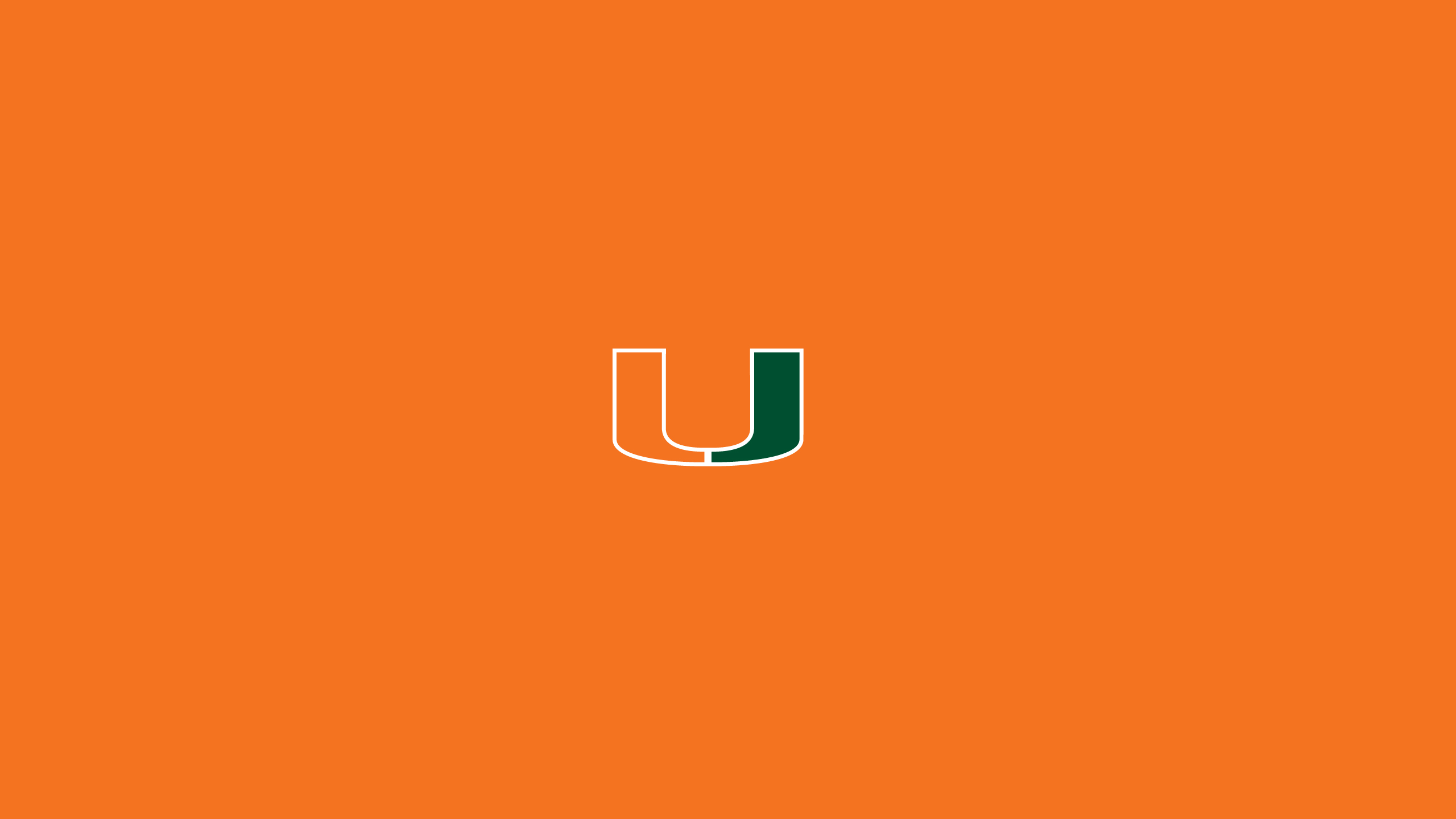 University Of Miami Wallpaper