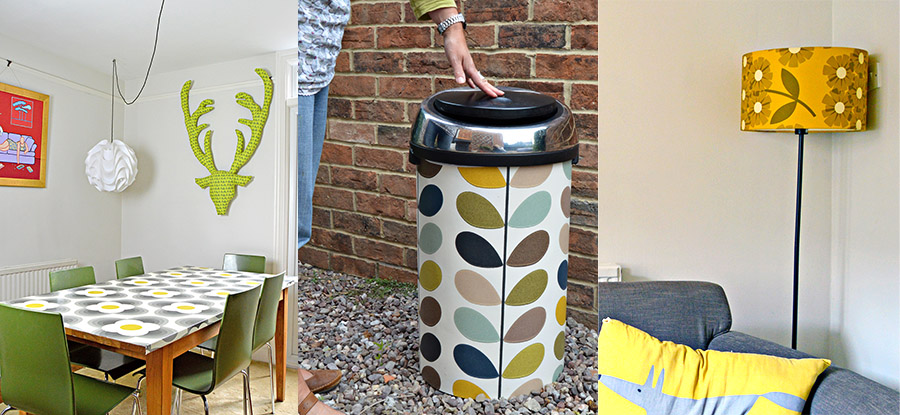 Upcycling Furniture With Wallpaper