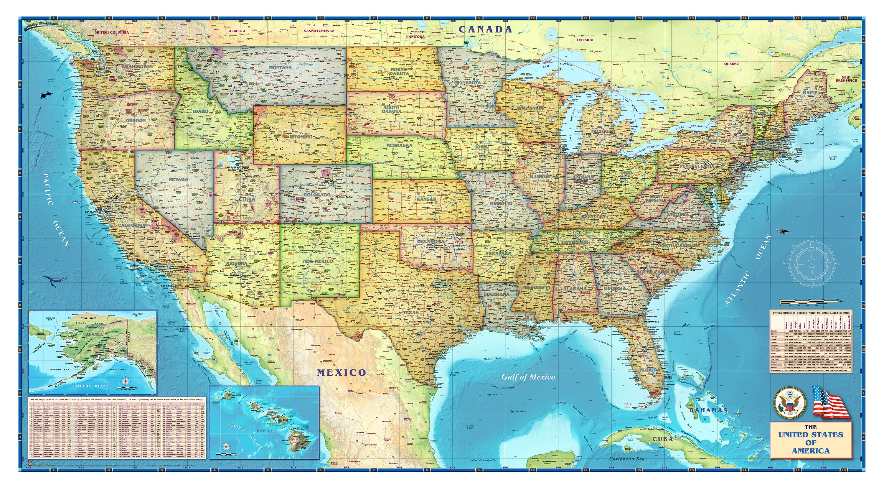 Images Of Download Collaterals Maps Wallpapers SC - Us map screensaver