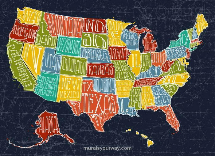 Photo Collection Wallpaper Us Map - Us map screensaver