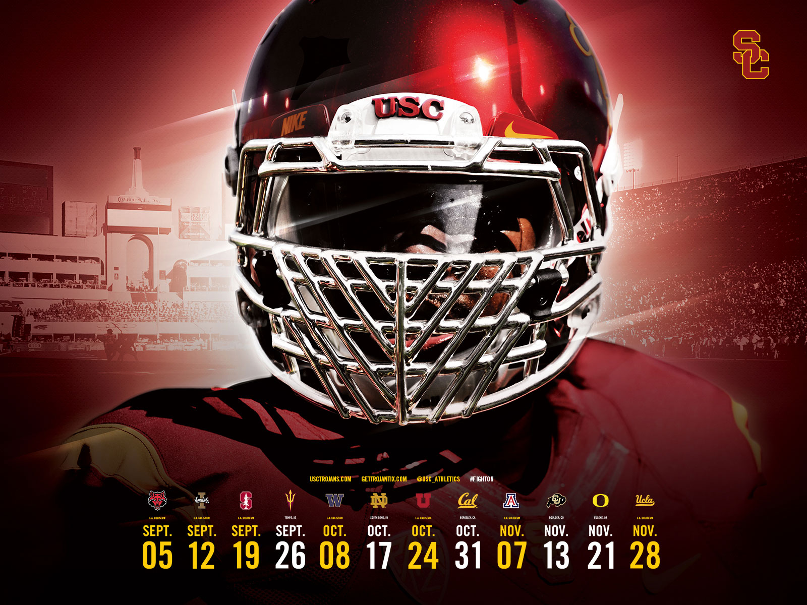 Usc Trojans Football Wallpaper