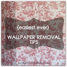 Use Vinegar To Remove Wallpaper