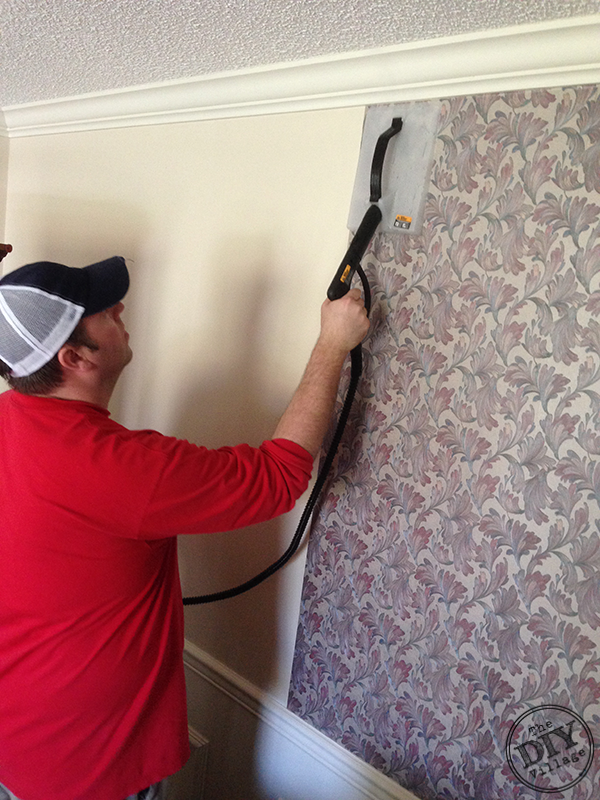 Using A Steamer To Remove Wallpaper