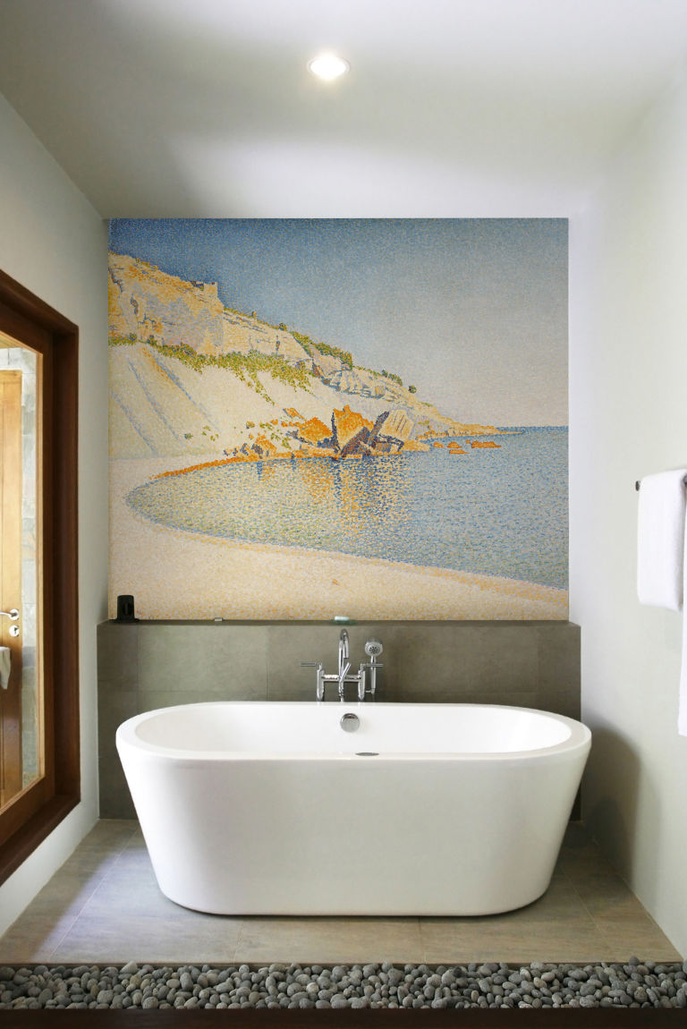 Download Using Wallpaper In Bathrooms Gallery