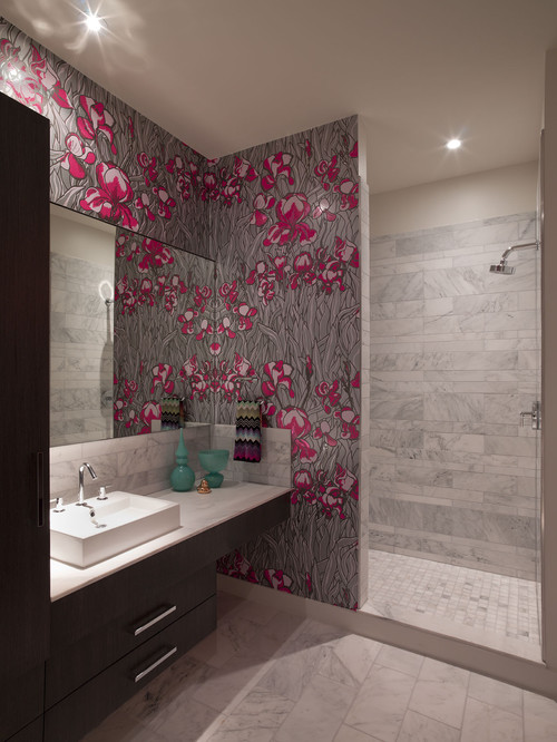 Using Wallpaper In Bathrooms