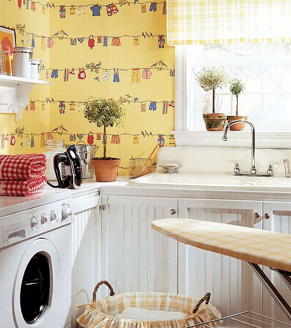 Utility Room Wallpaper
