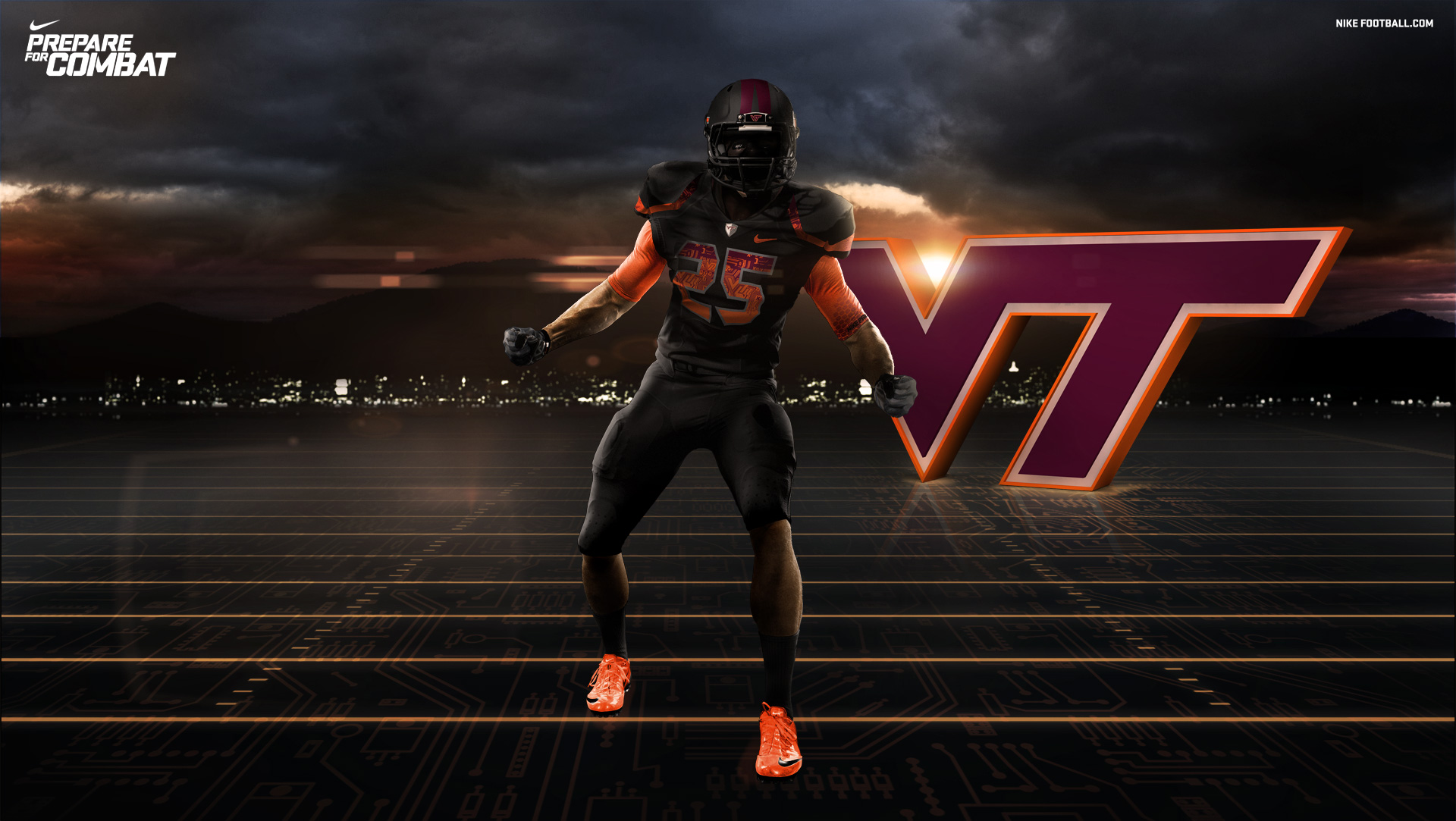 Va Tech Football Wallpaper