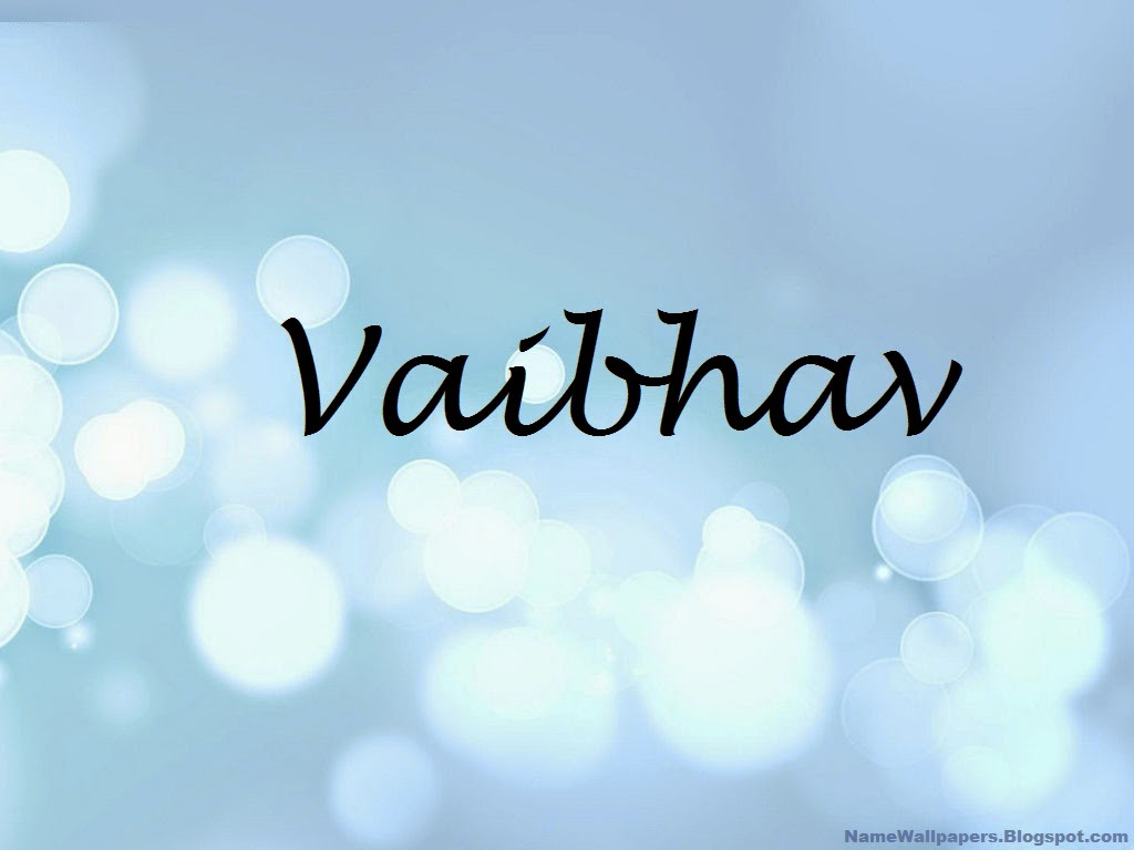 Vaibhav Name Wallpaper