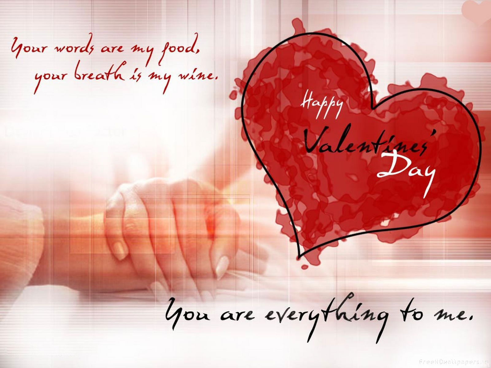 Valentine Day Greeting Wallpapers