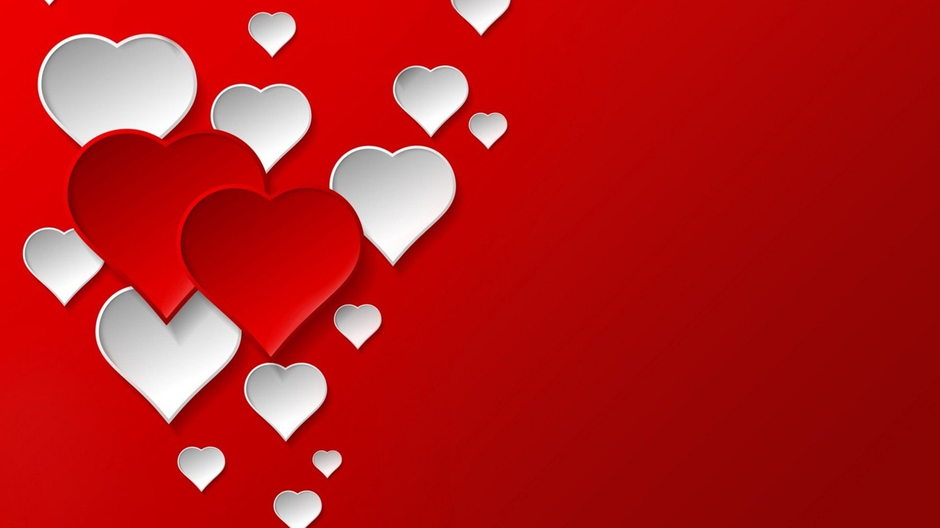 Valentine Hearts Wallpaper