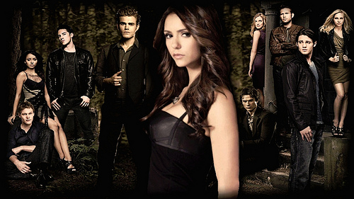 Vampire Diaries Cast Wallpaper