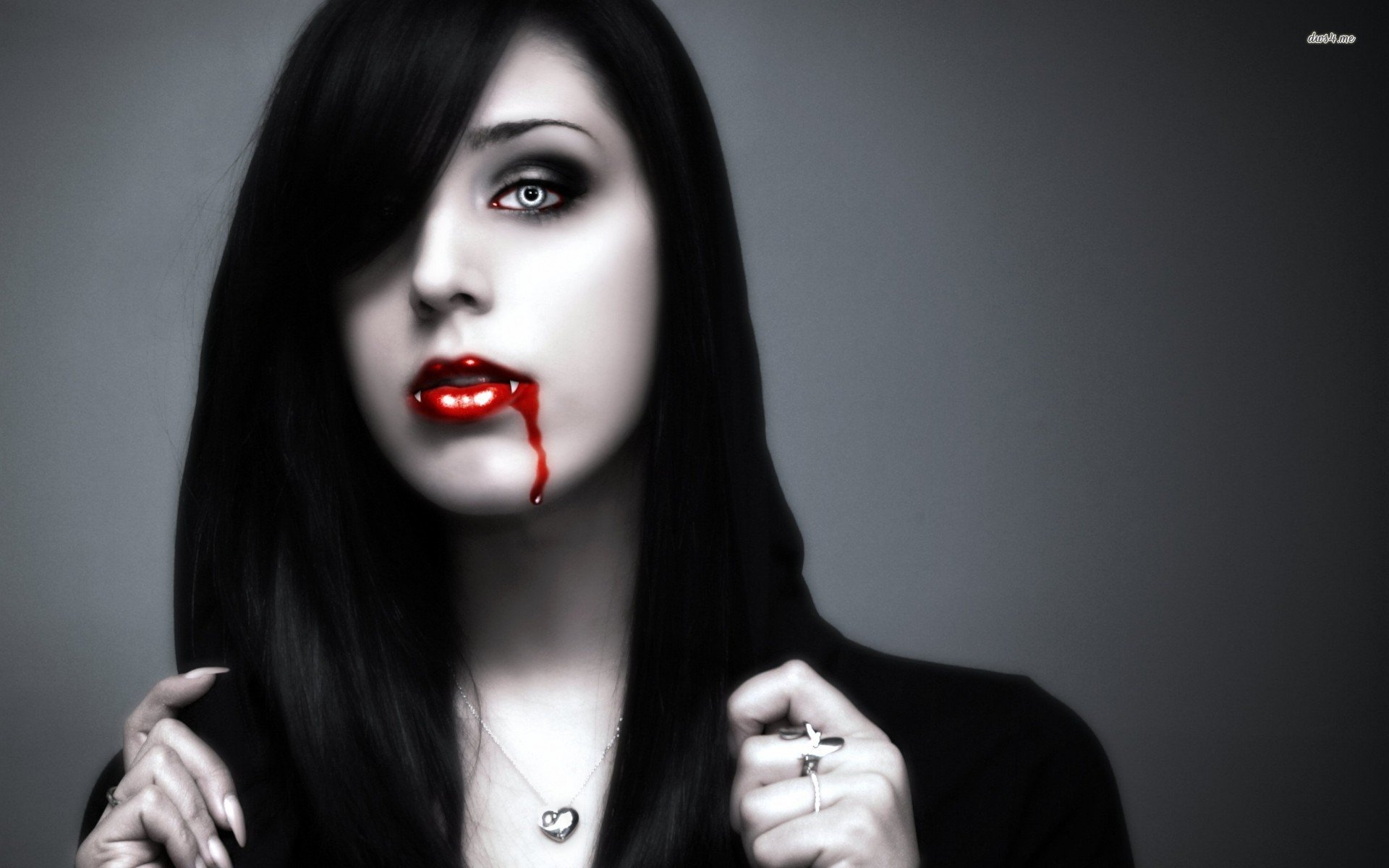 Vampire Woman Wallpaper