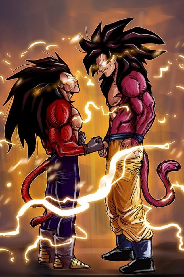 Download vegeta super saiyan 4 wallpaper gallery - Goku vs vegeta super saiyan 5 ...