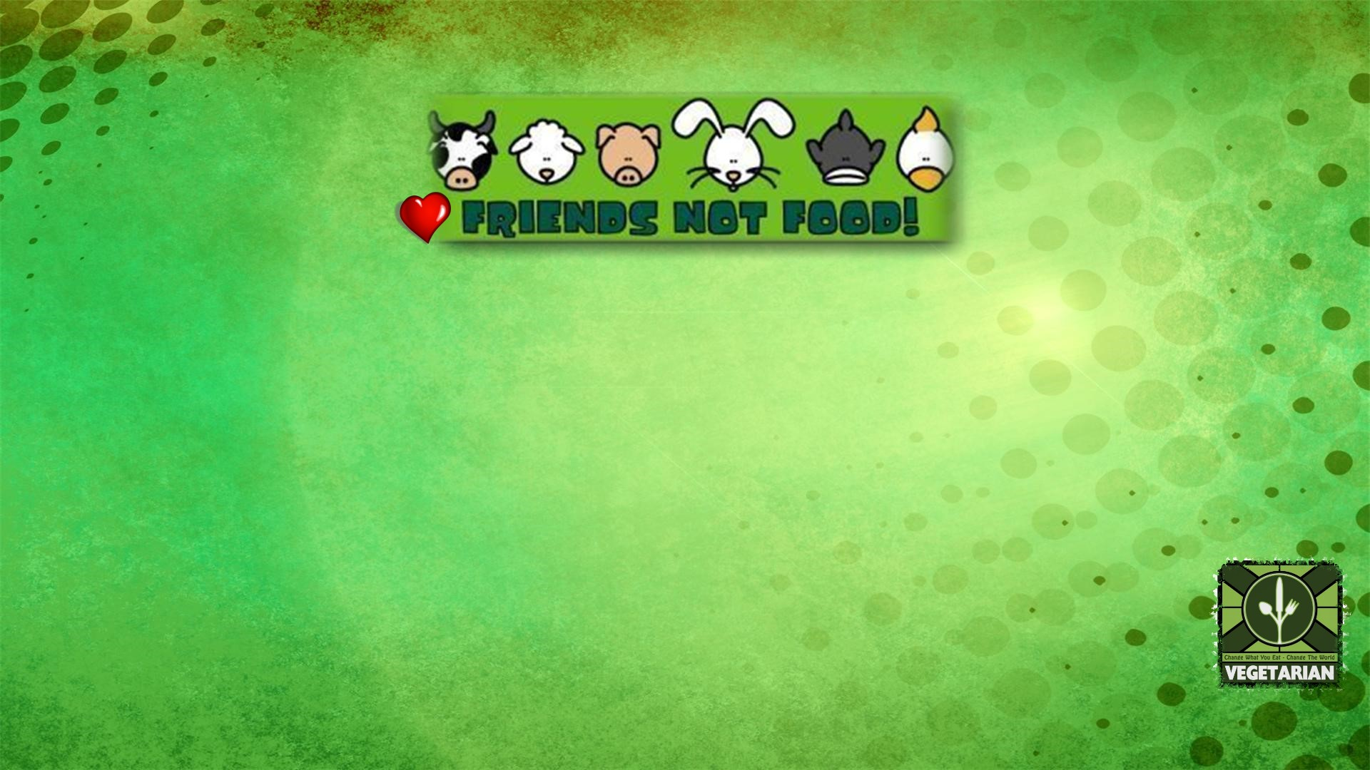 Vegetarian Wallpaper