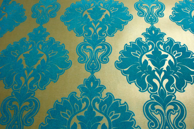 Velvet Damask Wallpaper