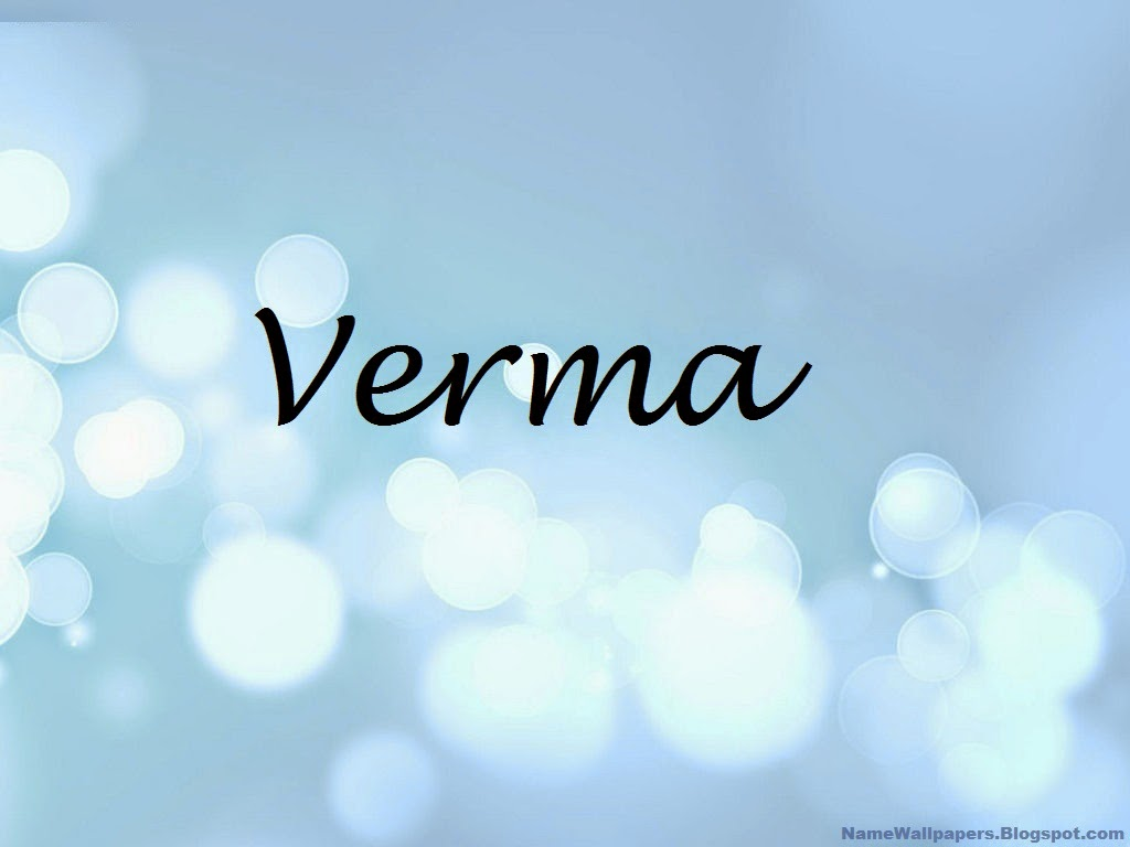 Verma Name Wallpaper