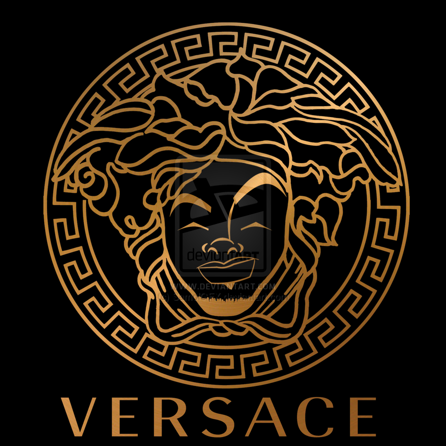 Versace Logo Wallpaper Gold