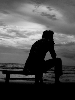 Download very sad wallpaper boy gallery - Black and white love pictures ...