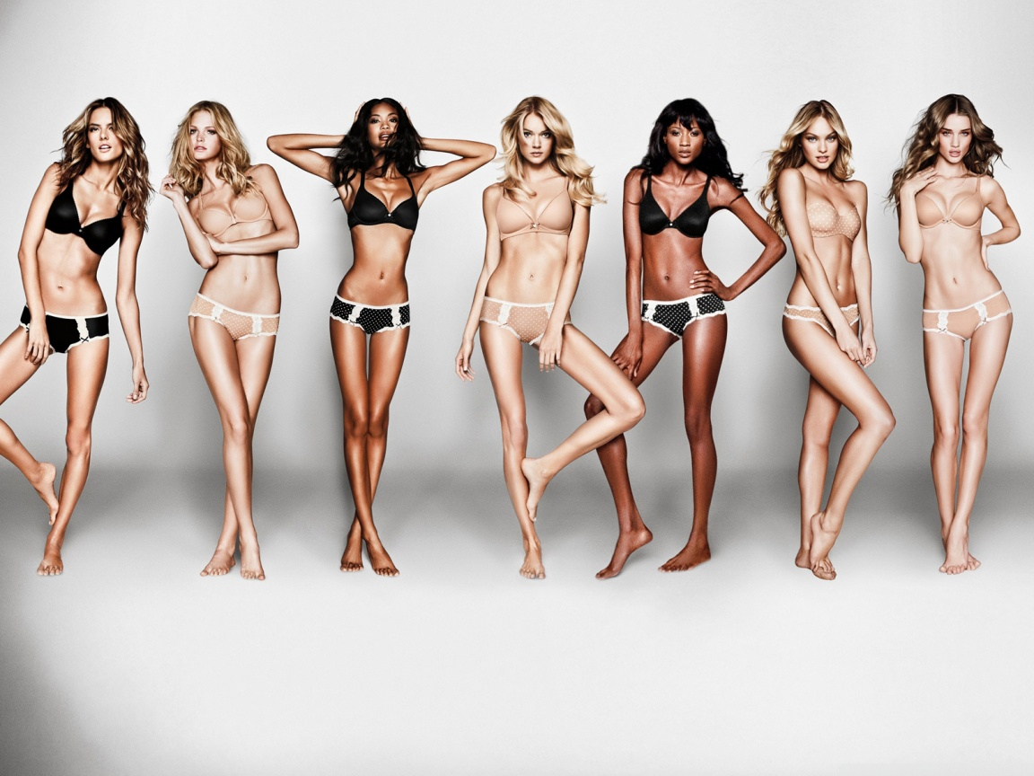 Victoria Secret Models Wallpaper