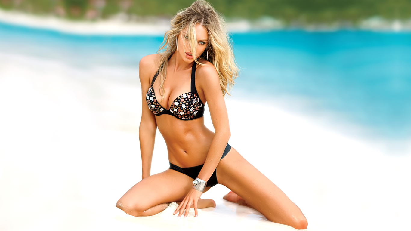 Victoria Secrets Models Wallpaper